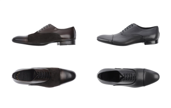 Cap Toe Oxford Lace Shoes