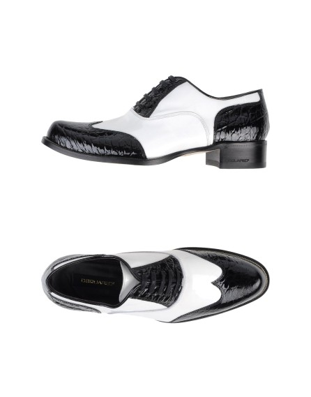 Black and white Spectator shoes