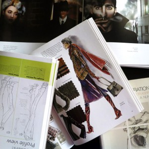 OpenFashionIllustrationBooks