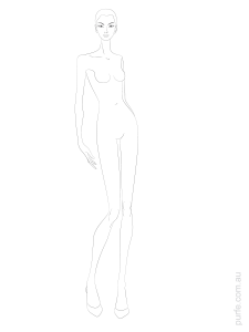 Download Fashion Figure Template