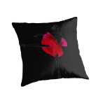 Flower Ballerina throw pillow