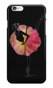 Flower Ballerina iPhone case