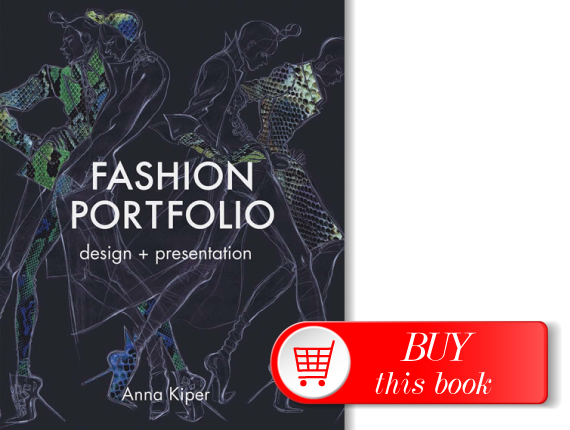 Custom Acrylic Fashion Design Portfolio Book - Pinterest 86